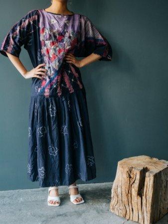 Handmade Mix Design Dress
