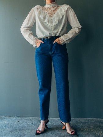 Painter Pocket Design Blue Jeans