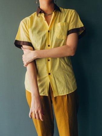 Bi-color Half Sleeves Shirt