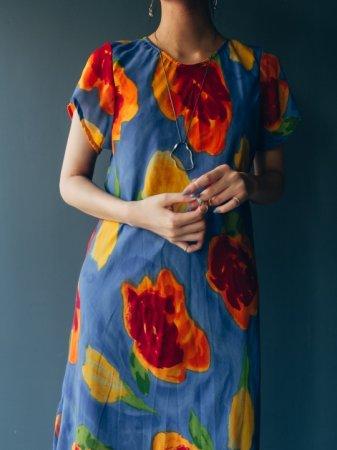 Flower Art Design Dress