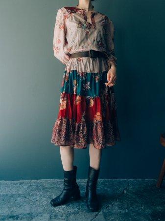 Romantic Sheer Midi Dress