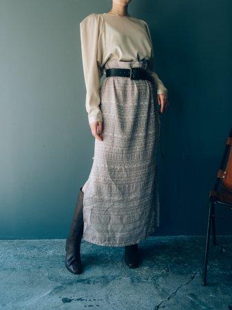 JQD Satin Long Skirt