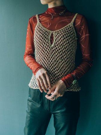 Sequins Knit Camisole