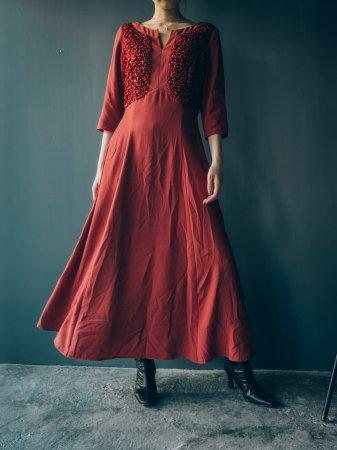 Smocking Design Long Dress