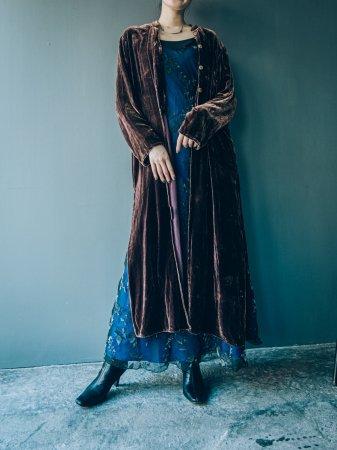 Velvet Long Dress Gown