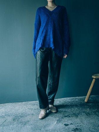 Mohair Mix Knit Top