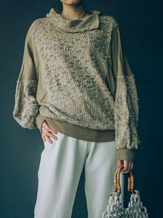 80s Design Knit Top