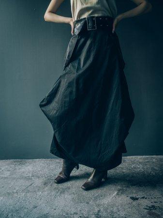 Deformation Black Skirt