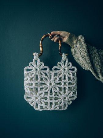 PVC Flower Motif Bag