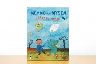 Memmo och Mysen  bråkar i vinden