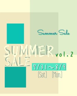 <img class='new_mark_img1' src='https://img.shop-pro.jp/img/new/icons24.gif' style='border:none;display:inline;margin:0px;padding:0px;width:auto;' />SUMMER SALE