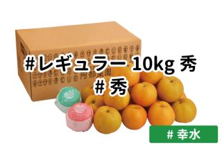 レギュラー秀10kg【幸水】