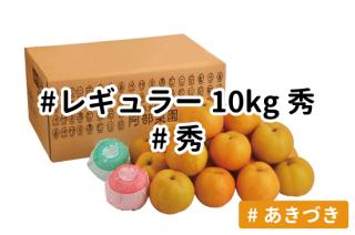 レギュラー秀10kg【あきづき】