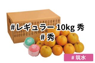 レギュラー秀10kg【筑水】