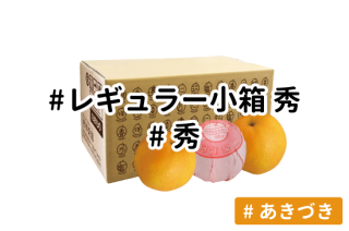 レギュラー秀 小箱【あきづき】