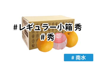レギュラー秀 小箱【南水】