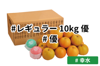 レギュラー優10kg【幸水】