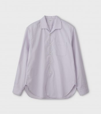 French Open Collar LS Shirt