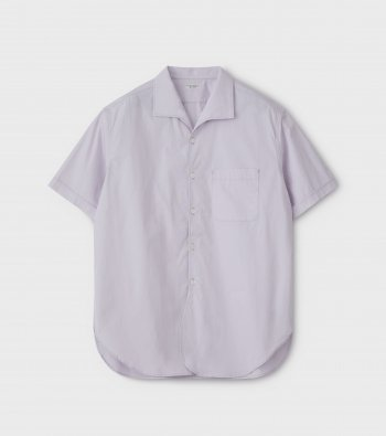 French Open Collar SS Shirt