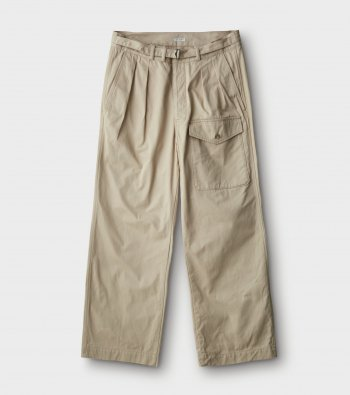 Belted Military Trousers