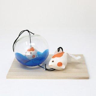 風鈴金魚親子 (橙)数量限定商品