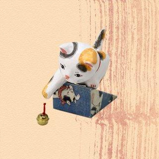 Ukiyo-e Cat mike / jare 「浮世絵猫 みけ /じゃれ」