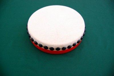 パーランクー 直径15cm バチ付き 水牛皮製 エイサー用太鼓