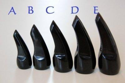高級水牛爪(バチ)B 6.7cmサイズ