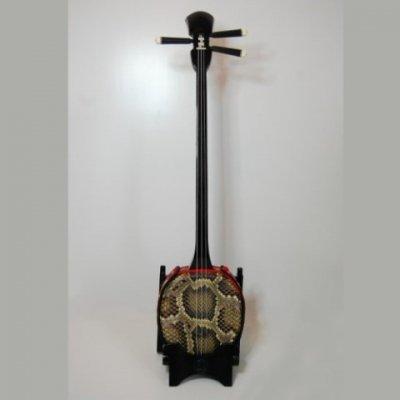 沖縄三線(蛇皮強化張り・約80cm)オーダーメイド