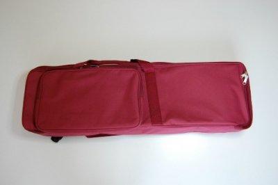 セット用 三線用ソフトケース(赤紫)