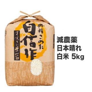 減農薬日本晴れ 白米 5kg