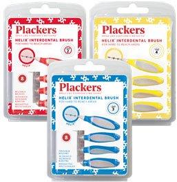 プラッカーズ・タフスパイラル歯間ブラシ 1箱(8本入×9個)