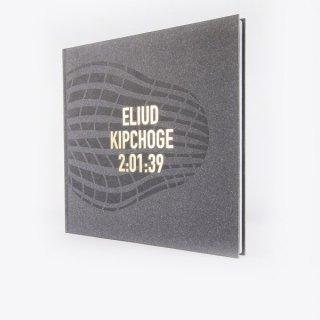 Eliud Kipchoge's WR Celebration Book