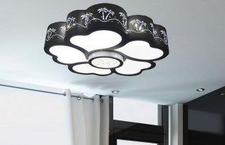 LEDシーリングライト DLKC013 調光調温 リモコン三段調節 (インテリア照明 間接照明 ペンダントライト 天井照明 北欧)