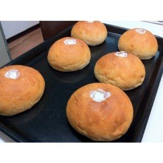 【注・小麦使用】(株)トントンハウスホイップクリームパン(卵、乳不使用小麦パン)【クール便】(冷凍)