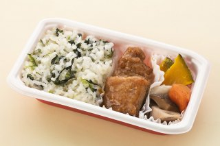 JALセレクション   JAL国際線機内特別食 アレルギーミール 「豚唐揚げ 甘酢酢あんかけのお弁当」賞味期限22.1.7  【クール便(冷凍)】  日本航空と辻安全食品は食品ロス削減に貢献します