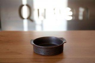 橋本 忍 鉄黒 グラタン皿