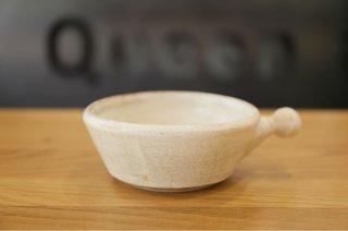 内田可織 取手付きグラタン皿(刷毛目)