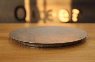 村上躍 白金彩丸盤皿