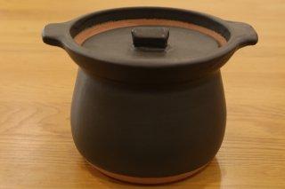 馬場勝文 ご飯炊き鍋(2合・黒色)