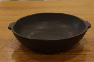 馬場勝文 耐熱グラタン皿(大・黒)