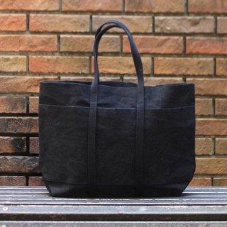 AMIACALVA(アミアカルヴァ) / washed canvas 6pockets tote(M) / トートバッグ ブラック