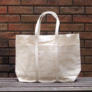AMIACALVA(アミアカルヴァ) / washed canvas 6pockets tote(M) / トートバッグ ナチュラル