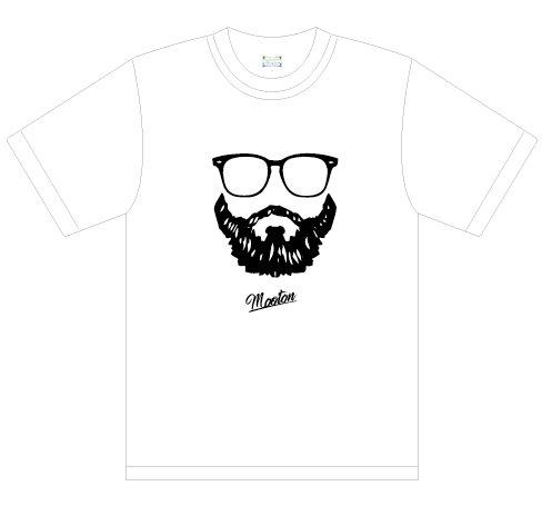 ヒゲフェイス Tシャツ