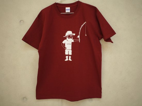 ninjacrew × MOOTON コラボTシャツ(バーガンディ)