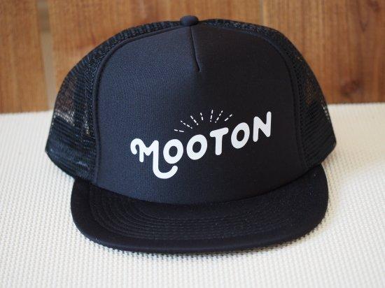 MOOTON メッシュキャップ(ブラック)