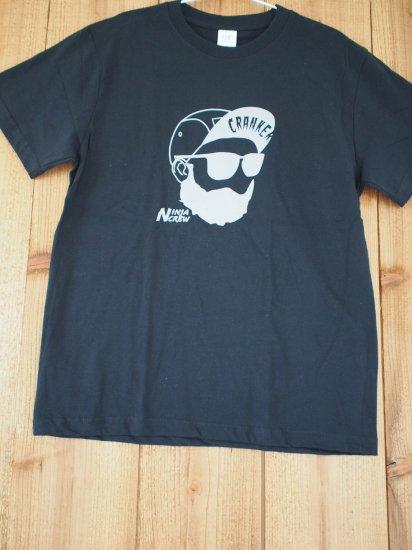 CRANKERTシャツ(ブラック)