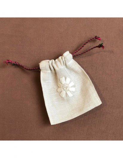 刺繍ミニ巾着 C