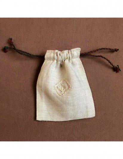 刺繍ミニ巾着 D