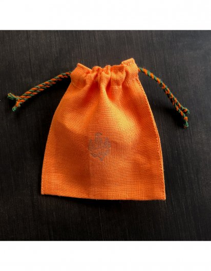 リネン カラフル巾着 OR